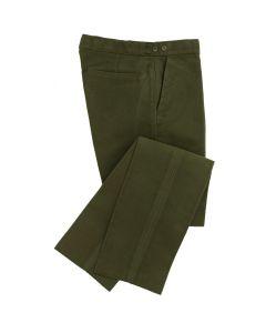 Moleskin Olive Trousers by Wathen Gardiner