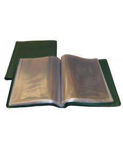 UKOM Green 40 page A5 Nyrex / Nirex Folder Document Holder