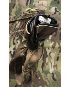 UKOM MOLLE T Bar Glove Hanger - Elastic with Velcro Closure