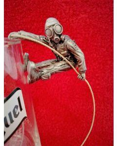 """Who Dares Wins"" SAS Glass Hanging Abseiler"