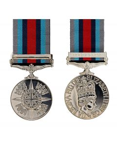 Official Op Shader Miniature Medal, Clasp and Ribbon