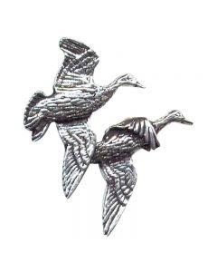 Bisley Pewter Pin No.5 Pair of Ducks
