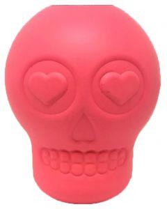 MKB Sugar Skull Treat Dispenser & Chew Toy - Large - Pink