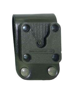 Peter Jones Leather belt loop to fit up to 50mm belt + Klick Fast dock