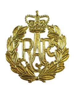 Brass Royal Air Force Airmens RAF Beret / Cap Badge