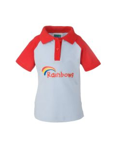 Kids Official Rainbow Polo Top