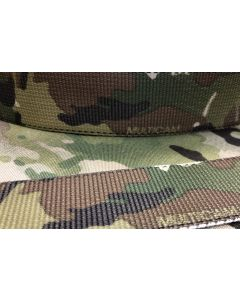 """TEXCEL - 45mm - 1 3/4"""" Type 13 Double Sided Crye Multicam Webbing"""