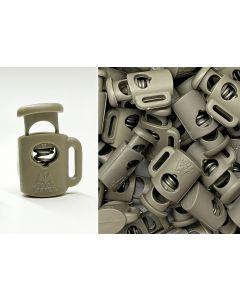 """1/16""""-3/32"""" MiniMi™ Mini Cord Locks Tan"""
