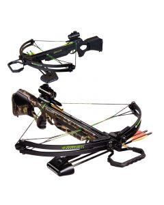 Barnett Wildcat Black or Camo C5 Crossbow Inc Quiver, Bolts and Sight