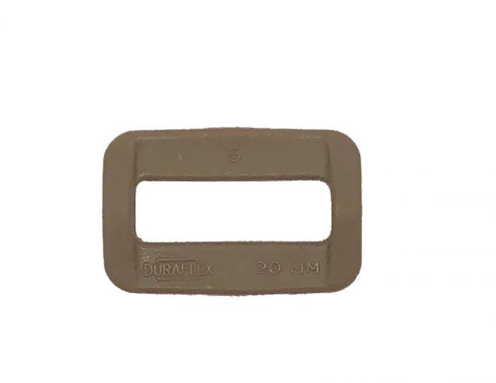 """Duraflex Tan499 IRR 20mm - 3/4"""" Square Ring / Common Loop"""